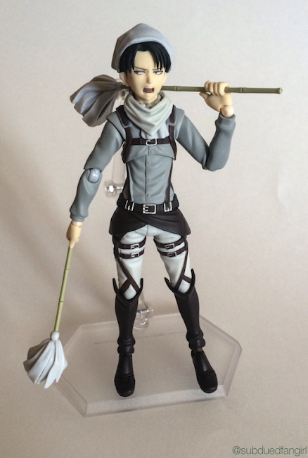 Figma Levi Cleaning Ver. Review Picture 1