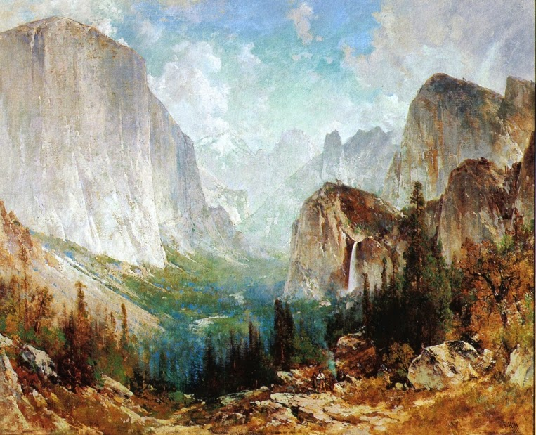 Thomas Hill - After the Storm, Yosemite Valley