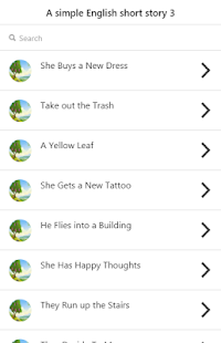 English short story 3 - náhled