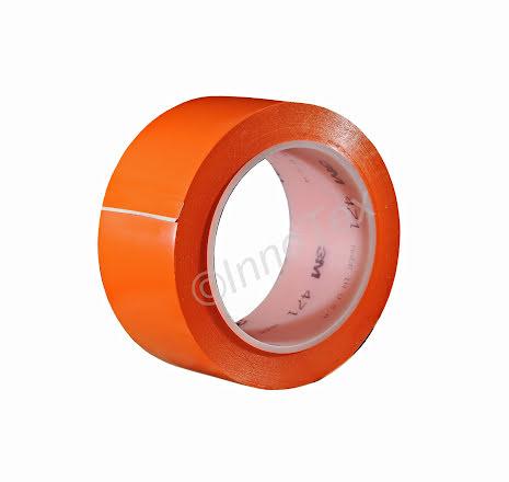 3M 471 Vinyltejp 50mm Orange (Linjemarkering mm.)