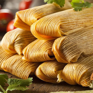 Red Chile Braised Short Rib Tamales