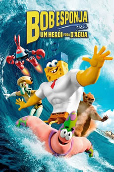 Baixar Filme Bob Esponja: Um Herói Fora d'Água (2015) Dublado Torrent Grátis