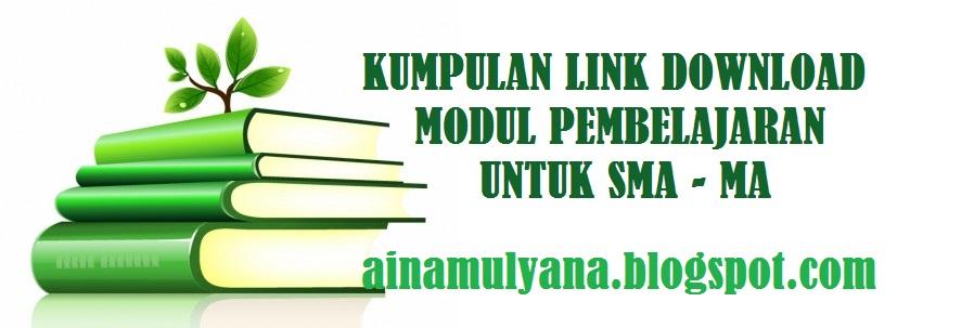 Link Donwload Modul Pembelajaran untuk SMA - MA Tahun Pelajaran 2020/2021