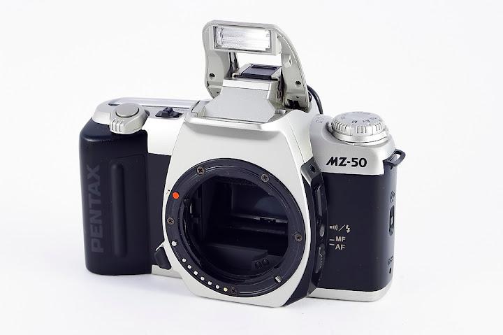 pentax mz 50 analoge spiegelreflexkamera mit. Black Bedroom Furniture Sets. Home Design Ideas