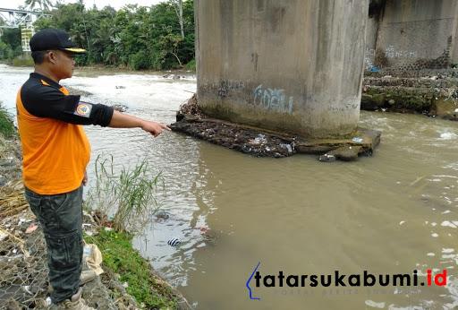 Cuaca Ekstrim di Sukabumi, Masyarakat di Bantaran Sungai Tingkatkan Kewaspadaan