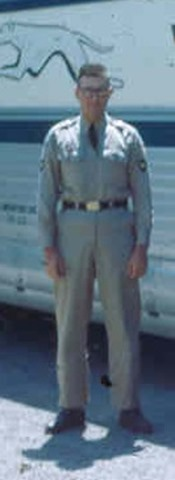 Dad in uniform