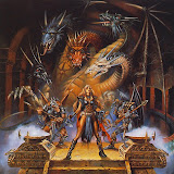 Warriors In The Temple Of Dragon