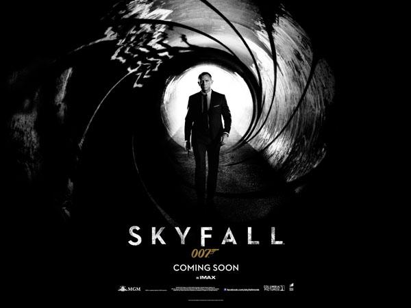 skyfall 2012 banner Skyfall   Primeiros Banner, Poster e Trailer.