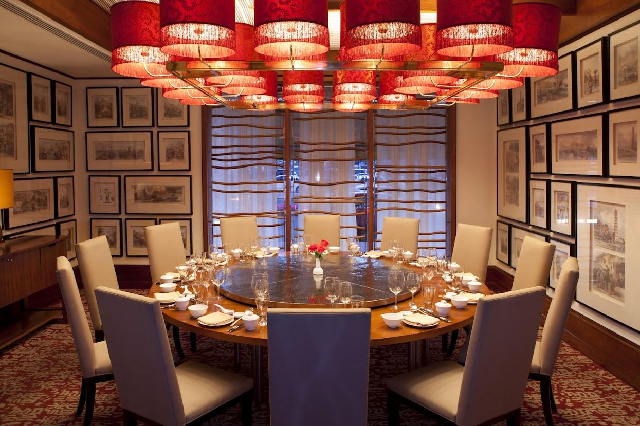 The China Club restaurant at the Radisson Blu Hotel in Dubai