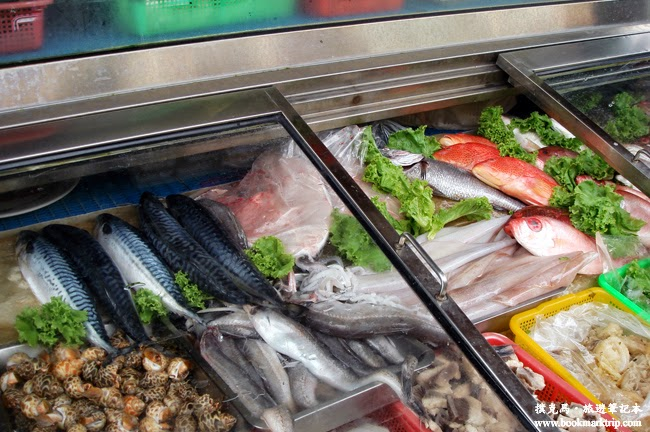 亞士都海鮮餐廳新鮮食材