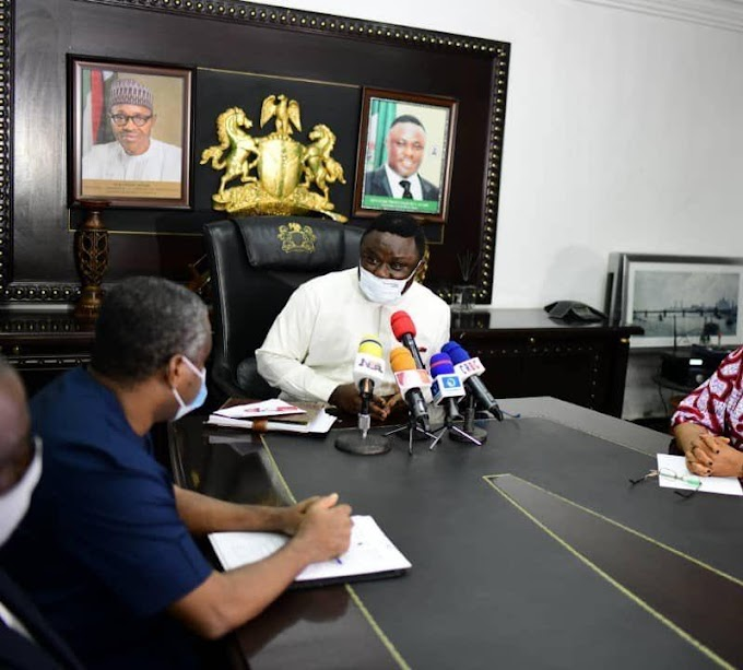 Governor Ayade discusses with Cameroon government over plans of taking back it's 46,000 plus Refugees