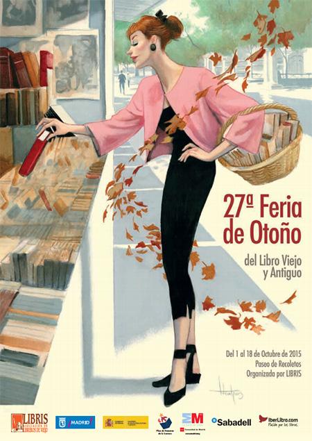 Feria de Otoño del Libro Viejo y Antiguo, del 1 al 18 de octubre 2015