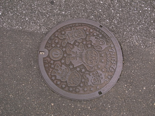 高知県マンホールアンパンマン