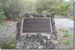 Plaque at bench 1
