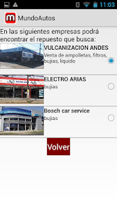 Mundo Autos screenshot 2