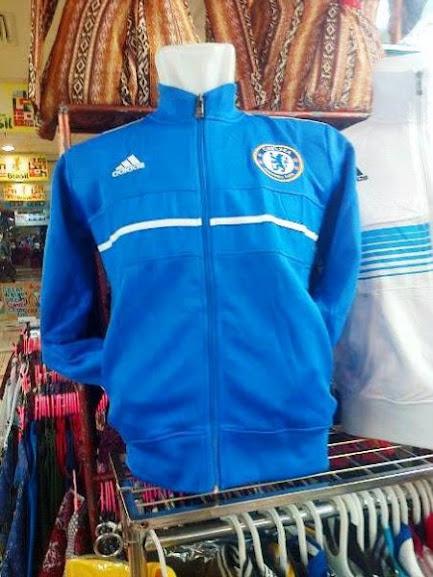 Jual Jaket Chelsea Warna Biru Putih