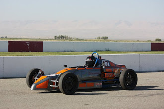 Photo: Aaron Meyer in his Crusader Vee Submitted by Kim Madrid