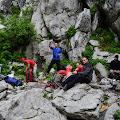 odmor kod Ratkovog skloništa na Samarskim stijenama