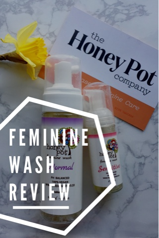 The Daily April N Ava The Honey Pot Company: Feminine Wash Review vegan cruelty free
