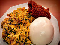 How I made Nigerian pounded yam