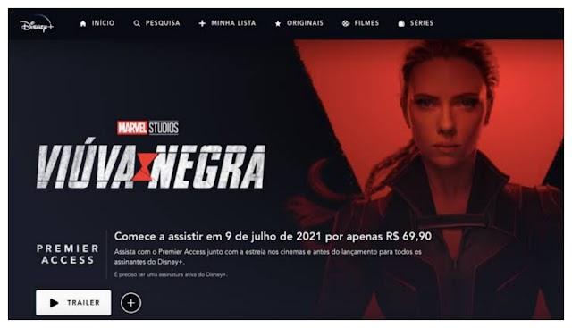 Viúva Negra já está disponível no Disney Plus com Premiere Access