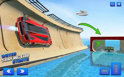 Water Surfing Car Stunts 4