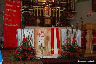 45 rocznica święceń kapłańskich Ks. Ignacego Piwowarskiego, Ks. Stanisława Milewskiego oraz Ks. Stanisława Szafrańca.