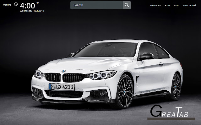 BMW Cars Wallpapers Theme |GreaTab