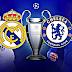 التسجيل الكامل لمباراة ريال مدريد و تشيلسي 1-1