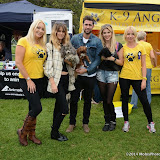WWW.ENTSIMAGES.COM -     Victoria Eisermann, Matt Johnson, Ashley James and Pola Pospieszalska  at        Pup Aid at Primrose Hill, London September 6th 2014Puppy Parade and fun dog show to raise awareness of the UK's cruel puppy farming trade. Pup Aid, the anti-puppy farming campaign started by TV Vet Marc Abraham, are calling on all animal lovers to contact their MP to support the debate on the sale of puppies and kittens in pet shops. Puppies & Celebrities Return To Fun Dog Show Fighting Cruel Puppy Farming Industry.                                              Photo Mobis Photos/OIC 0203 174 1069
