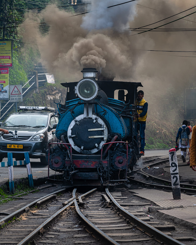 Toy train, Darjeeling, North Bengal , India