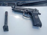 Bawa Senjata Airsoft Gun Ilegal, Seorang Mahasiswa Diamankan Satgas Yonif MR 411/PDW Kostrad