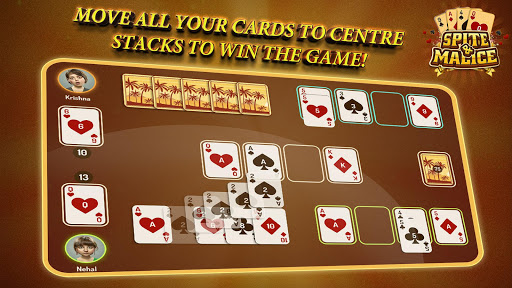 Spite and Malice - Skip Bo Free Wild Card Game apkmr screenshots 3