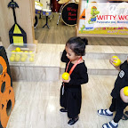 Halloween Celebration by Playgroup Section at Witty World, Bangur Nagar (2018-19)