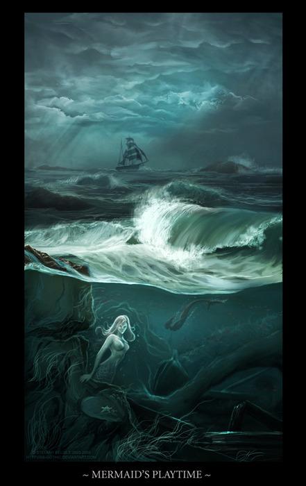 Mermaids Playtime, Mermaids