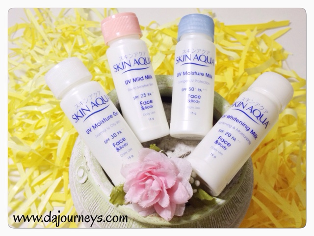 Review Skin Aqua Face and Body Lotion