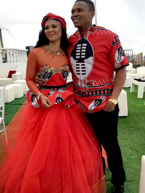 Traditional Dresses For Wedding In Africa 2018 8