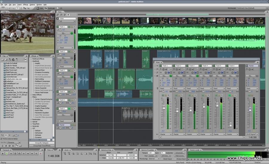 Bộ cài Adobe Audition 3.0 Full Crack - Phần mềm thu âm chuyên nghiệp - Image 1