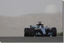 Valtteri Bottas nei test del Bahrain 2017