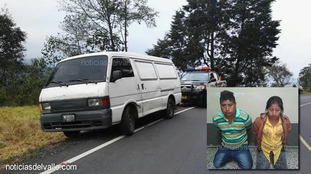 Recuperan mercadería robada de almacén, tras persecución policial
