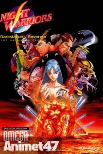 Vampire Hunter - Night Warriors: Darkstalkers' Revenge 1997 Poster