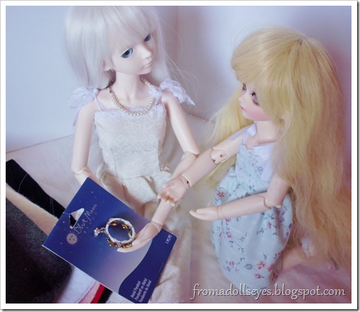 A Few Treats from The Craft Store:  Use jewelry pieces as doll accessories