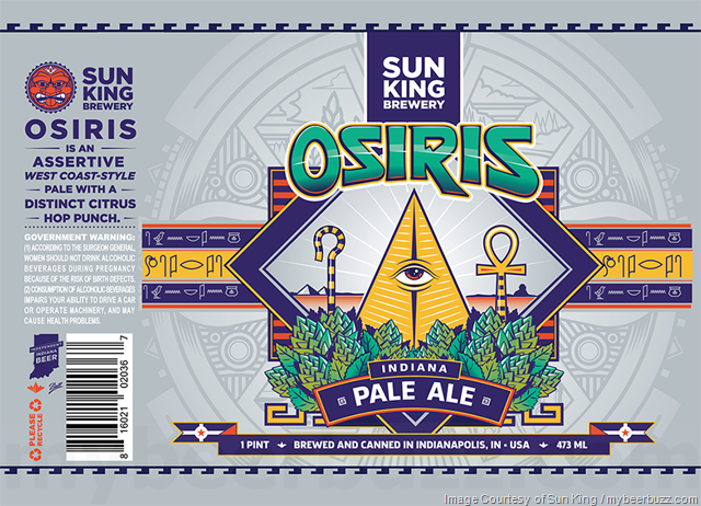 Sun King Brewery - Osiris Indian Pale Ale Cans