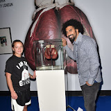 OIC - ENTSIMAGES.COM - Jenna O'Reilly and David Haye at the  I Am The Greatest - Muhammad Ali exhibition at The O2 London 3rd  March 2016 Photo Mobis Photos/OIC 0203 174 1069