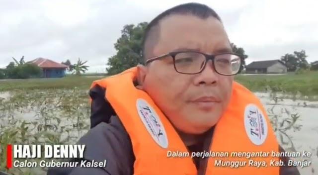 Denny Indrayana Minta Dukungan Masyarakat Banua Menang di MK