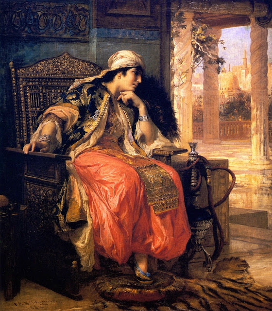 Frederick Arthur Bridgman - The Favorite