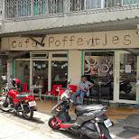 dutch poffertjes cafe in Taipei - a dutch mini pancake treat in Taipei, T'ai-pei county, Taiwan