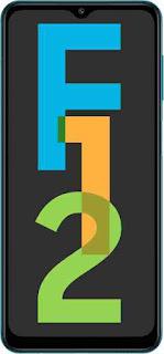 New Mobile phones Samsung galaxy F12 fullonfab, display, camera, Ram and storage.