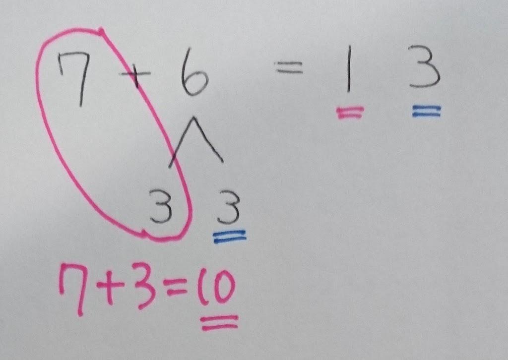 息子に学ぶ算数の考え方 その1 繰り上がりのある足し算