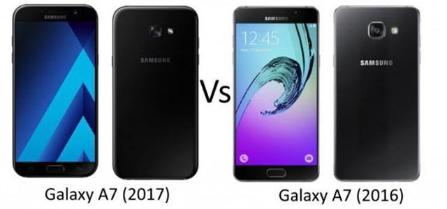 samsung galaxy a7 2017 vs a7 2016